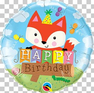 Happy Birthday To You Toy Balloon Party PNG