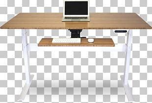 Standing Desk Information Table PNG