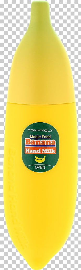 Tony Moly Magic Food Banana Hand Milk Nutrition Protein PNG