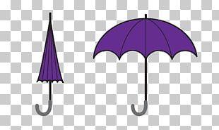 Printed T-shirt Umbrella Purple Spreadshirt PNG