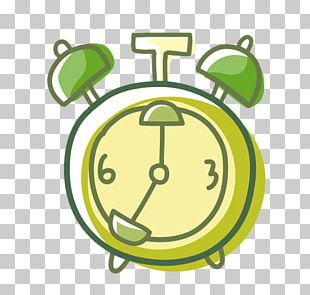 Alarm Clock Painting Animation Stroke PNG