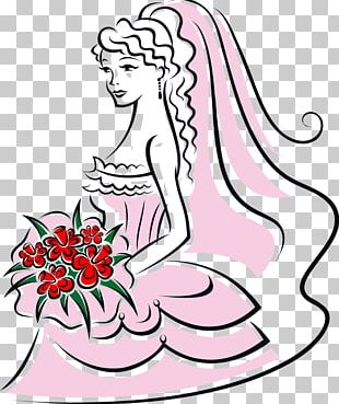 Bride Flower Bouquet PNG