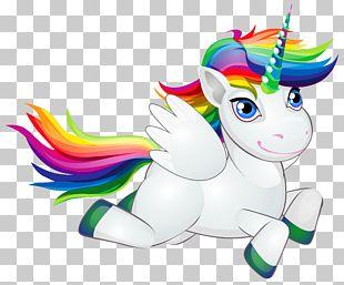 Pony Horse Rainbow Unicorn PNG