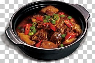 China Dry Pot Chicken Hot Pot Sichuan Cuisine Chinese Cuisine PNG