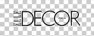 Logo Brand Elle Decor PNG