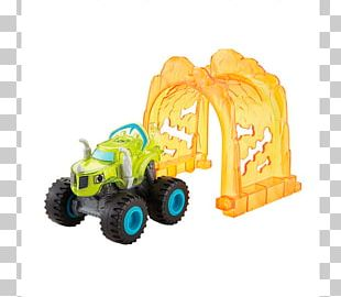 Darington Fisher-Price Blaze And The Monster Machines Monster Truck Car PNG