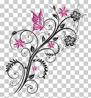 Butterfly Flower PNG