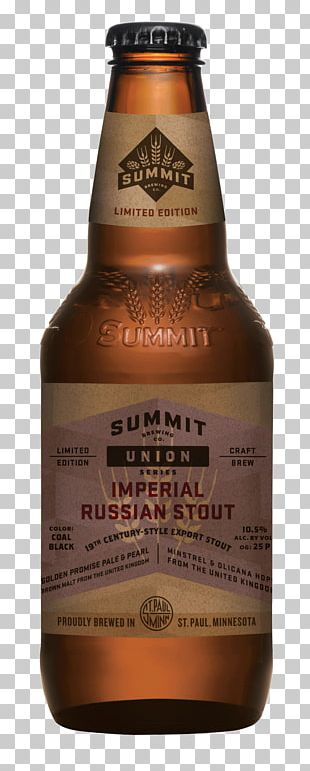Beer Summit Brewing Company Russian Imperial Stout Ale PNG