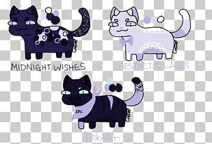Whiskers Kitten Black Cat PNG