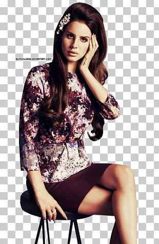 Lana Del Rey Fashion Model Singer PNG