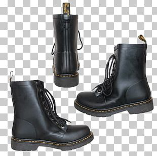 Motorcycle Boot Riding Boot Leather Shoe PNG