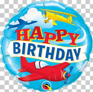 Happy Birthday To You Mylar Balloon Party PNG
