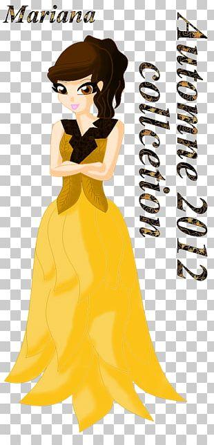 Human Hair Color Dress Character PNG
