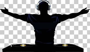 Disc Jockey DJ Mixer Phonograph Record PNG