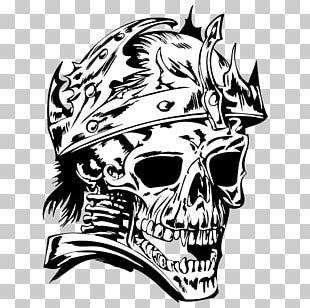 Skull T-shirt Art PNG