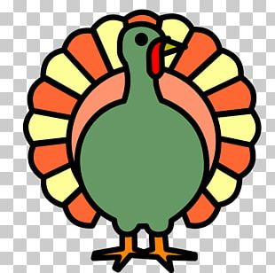 Thanksgiving Dinner Symbol Coloring Book PNG