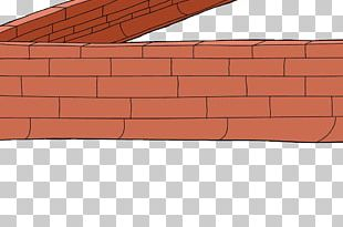 Bricklayer Wall Wood Stain Material PNG