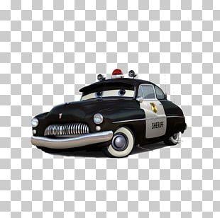 Cars Mater Lightning McQueen Doc Hudson PNG