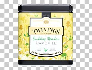 Earl Grey Tea Twinings Discovery Collection Budding Meadow Camomile PNG