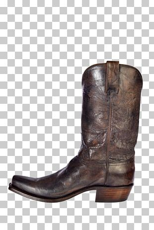 Cowboy Boot Leather Hat PNG