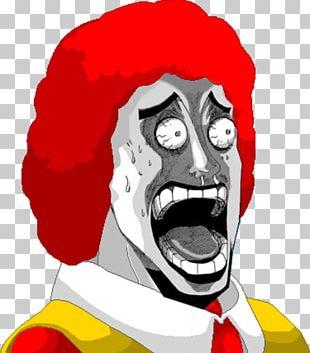 Ronald McDonald KFC Fast Food McDonald's Hamburger PNG
