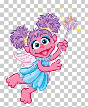 Abby Cadabby Elmo Zoe Count Von Count Ernie PNG