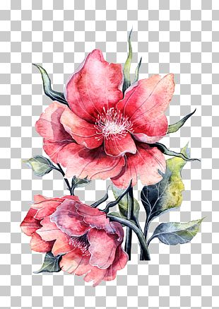 Flower Paper Painting Rose PNG