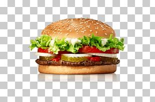 Whopper Hamburger Fast Food Cheeseburger French Fries PNG