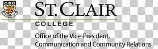 St. Clair College University Of Windsor Higher Education PNG