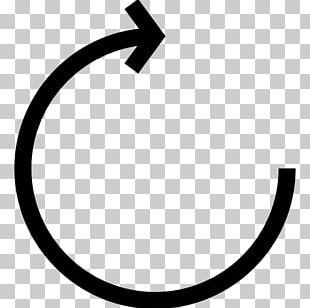 Clockwise Arrow Rotation Computer Icons Circle PNG