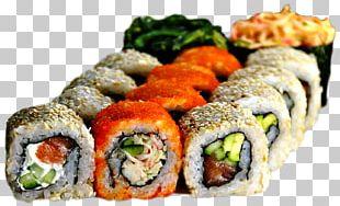 California Roll Sushi Japanese Cuisine Makizushi Gimbap PNG