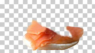 Smoked Salmon Sashimi Lox Madeleine Macaron PNG