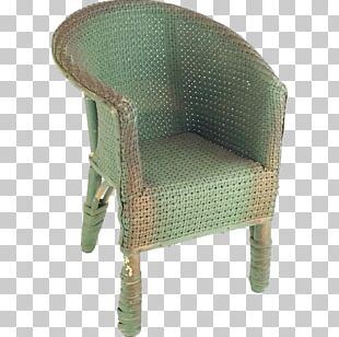 Furniture Chair Wicker Armrest PNG