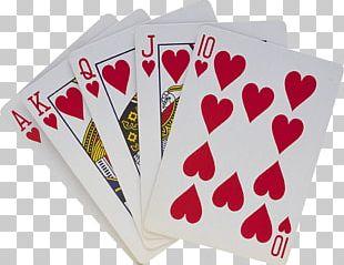 Playing Card Royal Flush PNG