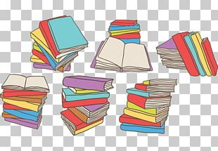 Book Stack Euclidean PNG