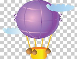 Hot Air Balloon Flight Air Transportation Toy Balloon PNG
