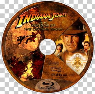 Indiana Jones And The Kingdom Of The Crystal Skull Blu-ray Disc DVD PNG