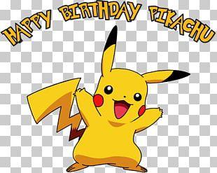 Pokémon Pikachu Pokémon GO Birthday PNG