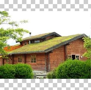 Green Roof House Garden Building Insulation PNG