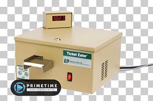 Ticket Machine Arcade Game Train Ticket PNG