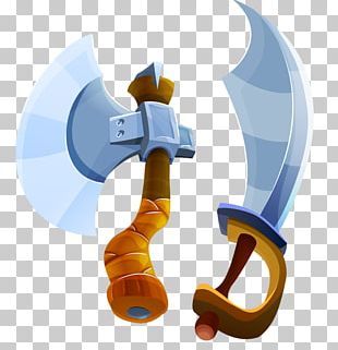 Axe Cartoon Weapon PNG