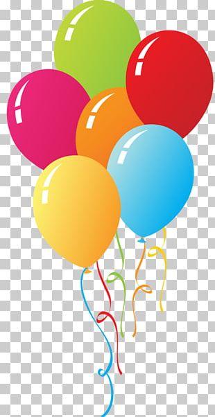 Circus Balloon Birthday PNG
