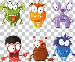 Monster Cartoon Character Illustration PNG