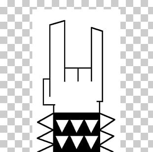 Sign Of The Horns Heavy Metal Devil Drawing PNG