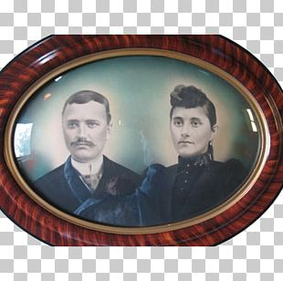 Frames Antique Portrait Mirror Oval PNG