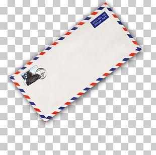 Envelope Letter Postage Stamp Stationery Postmark PNG