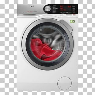 Washing Machines Home Appliance AEG L9FEC966R Washing Machine PNG