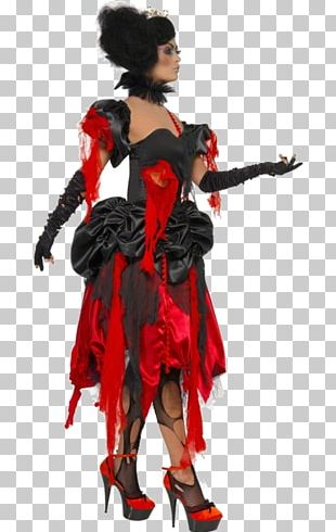 Costume Design Queen Of Hearts Character PNG