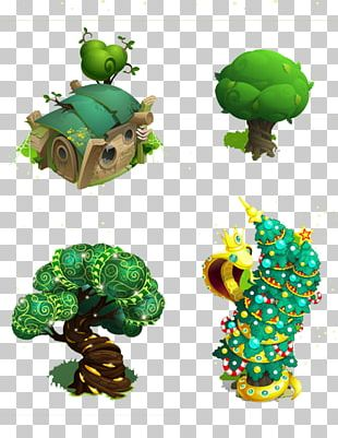 Tree House Fairy Tale PNG