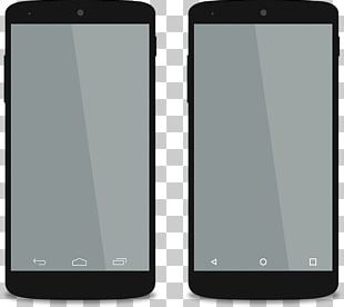 Android Smartphones Mockups PNG